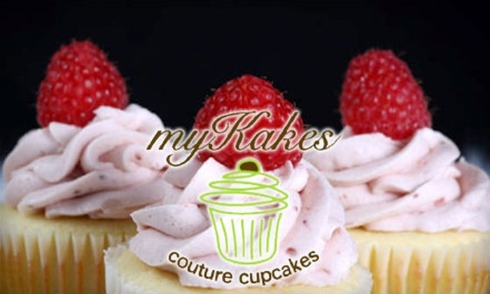 myKakes - Holland: $15 for One Dozen Cupcakes or Two Dozen Minicupcakes from myKakes Couture Cupcakes ($30 Value)