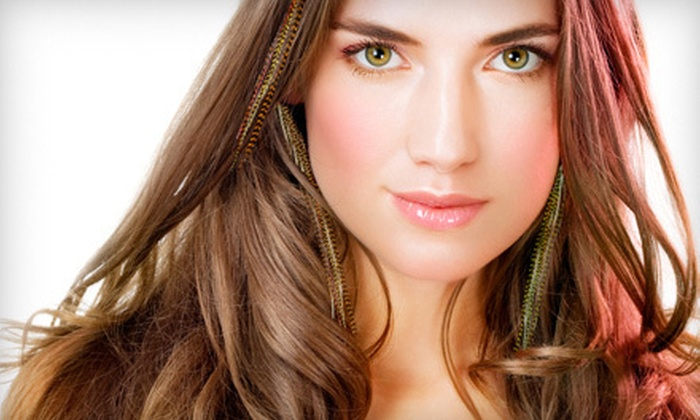 Salon Rouge - Multiple Locations: $25 for Haircut and Awapuhi Wild Ginger KeraTriplex Deep-Conditioning Treatment at Salon Rouge ($105 Value)
