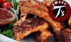 Sweet T's Homestyle Sports Grill & Lounge - Pike Creek-Central Kirkwood: $7 for $15 Worth of Soul Food and Drinks at Sweet T's Homestyle Sports Grill & Lounge