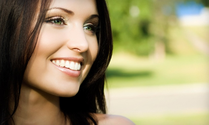 Pearl Teeth Whitening Spa - Fairview: $99 for an In-Office Teeth-Whitening Treatment and Take-Home Kit at Pearl Teeth Whitening Spa ($199 Value)