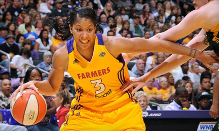 Los Angeles Sparks - Downtown Los Angeles: Los Angeles Sparks Game at Staples Center (Up to 61% Off). Three Games and Two Seating Options Available.