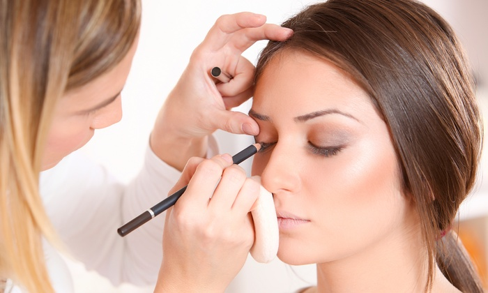 Morgan @ Blush Salon - Downtown Edmonds: Bridal Makeup Trial Session or Special Occasion Makeup Application from Blush Salon (50% Off)