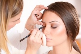 Morgan @ Blush Salon: Bridal Makeup Trial Session or Special Occasion Makeup Application from Blush Salon (50% Off)
