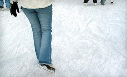 Jacksonville Ice &  Sportsplex: Admission to 1 Public Skating Session and 1 Skate Rental - Jacksonville Ice & Sportsplex in  Jacksonville