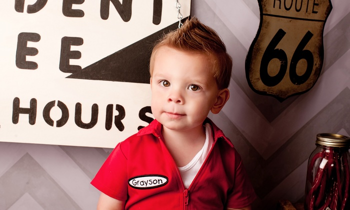 Spoiled Rockin' Kidz - Huntsville: Boys' Haircut Package, Girls' Spa Package, or First Haircut at Spoiled Rockin' Kidz (Up to 50% Off)
