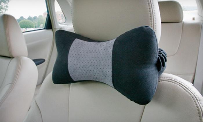 $17 for an Auto Neck Pillow & Lumbar Cushion | Groupon Goods