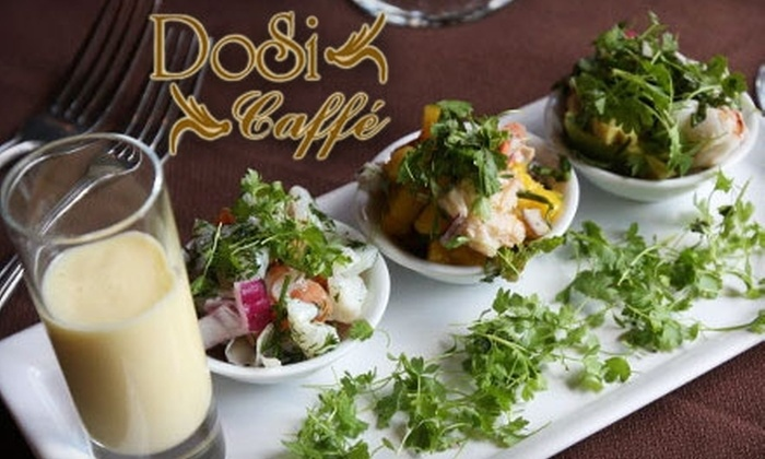 DoSi Caffé - Clifton: $20 for $40 Worth of Italian Fare and Drink at DoSi Caffé on Staten Island
