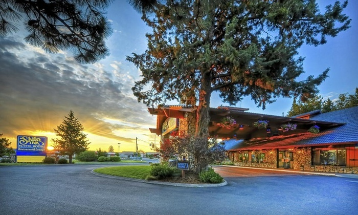 Shilo Inns Suites Hotels - Boyd Acres: $189 for a Two-Night Stay Package for Two with Dining Credit at Shilo Inns Suites Hotels in Bend