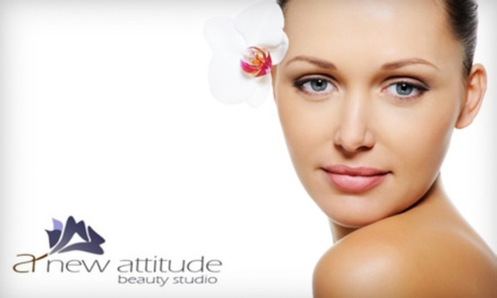 A New Attitude Beauty Studio - Hyde Park: $70 for a Facial, Minimassage, and Microdermabrasion at A New Attitude Beauty Studio