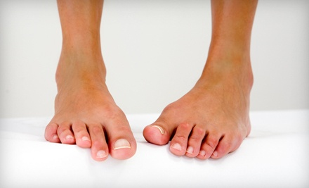 3 Laser Nail-Fungus Treatments for One Foot (a $595 value) - Dr. Jay S. Berenter D.P.M. in La Jolla