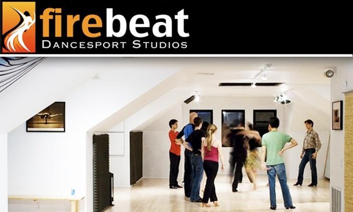 Firebeat Dancesport - Allston: Learn to Dance with Three Dance Lessons at Firebeat Dancesport