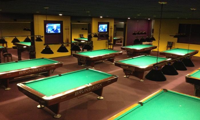Q 22 Billiards - Scotch Plains: $17 for $30 Worth of Billiards — Q22 Billiards