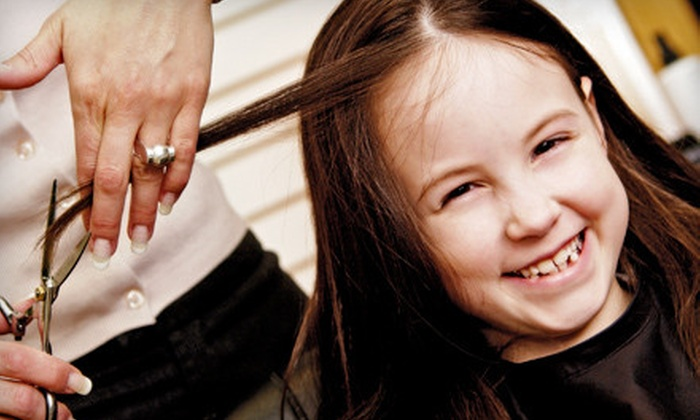 Tortoise & the Hair Kids Cuts - Henderson: Kids' Salon Package, Haircut, or Mani-Pedi at Tortoise & the Hair Kids Cuts (Up to 57% Off)