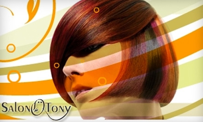 Salon Ö Tony - Vienna: $30 for $75 Toward Services at Salon Ö Tony