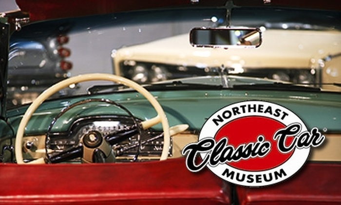 Northeast Classic Car Museum - Norwich: $4 for One Admission to the Northeast Classic Car Museum in Norwich (Up to $9 Value)