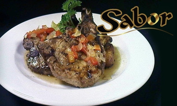 Sabor - Leisureville: $10 for $20 Worth of Cuban Cuisine and Drinks at Sabor in Boynton Beach