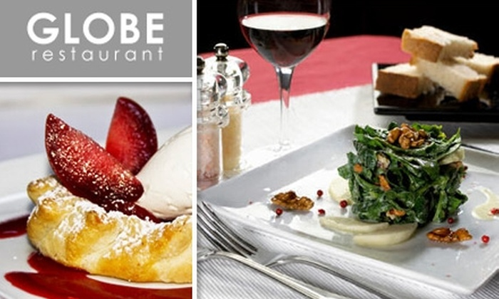 Globe Restaurant - Financial District: $20 for $40 Worth of Artisan Pizzas, Seasonal Entrees, and Drinks at Globe