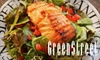 GreenStreet Cafe - Northeast Coconut Grove: $15 for $30 Worth of Al Fresco Mediterranean Dining at GreenStreet Cafe