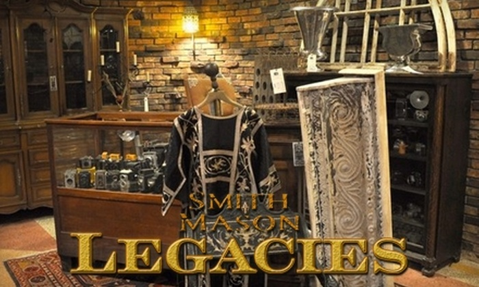 Smith Mason Legacies - Broadmoor, Anderson Island, Shreve Isle: $15 for $30 Worth of Rare Gifts, Antiques, Architectural Elements, and Fine Art at Smith Mason Legacies