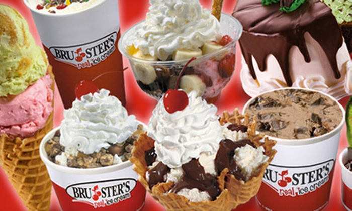 Bruster's - Tucker: $5 for $10 Worth of Ice Cream and Frozen Treats at Bruster's in Tucker