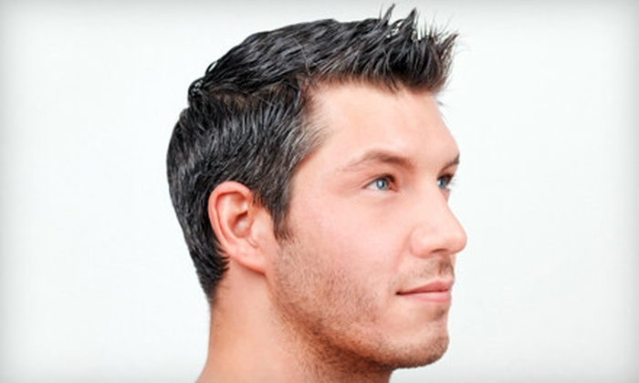 American Male Salon - Multiple Locations: Quality Grooming Experience or Shave, Manicure, and Waxing Package at American Male Salon (Up to 51% Off)