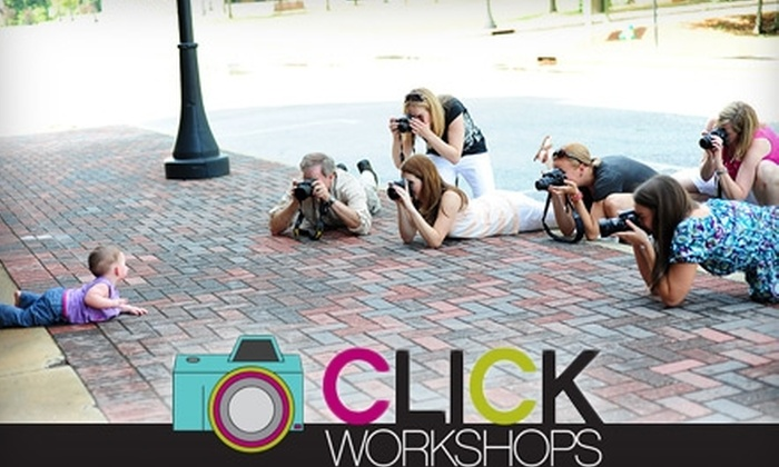 Click Workshops - Birmingham: Half Off Hands-On Digital Photography Class from Click Workshops. Choose Between Two Class Options.