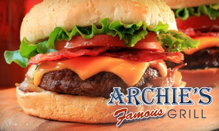 Archie's Famous Grill - University of Nevada: $10 for $20 Worth of Breakfast, Burgers, and More at Archie's Famous Grill