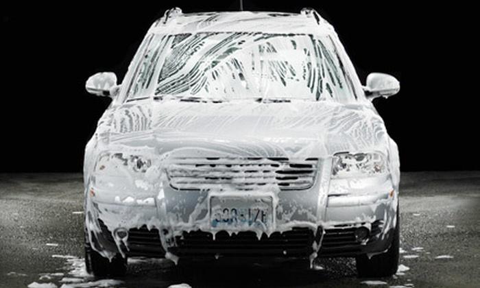 Express Car Wash - Corona: Three or Five Drive-Though Car Washes at Express Car Wash in Corona (Up to 56% Off)