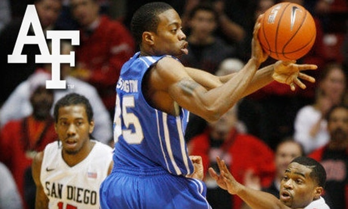 Air Force Falcons Men's Basketball - Northgate: $6 for One Upper-Level Ticket to the Air Force Falcons Men's Basketball Game vs. the San Diego State Aztecs on February 19 at 12 p.m.