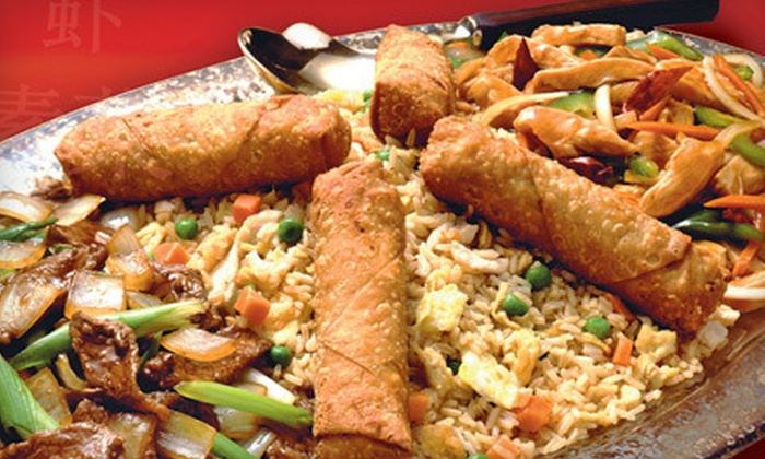 Magic Wok - Multiple Locations: $5 for Any Two Asian Entrees at Magic Wok (Up to $10.58 Value)