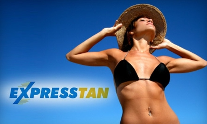 Express Tan - White Bear Lake: $20 for a Custom Spray Tan at Express Tan in White Bear Lake ($40 Value)