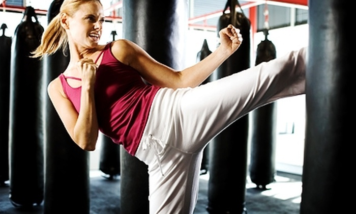 Guardian Martial Arts & Fitness - Garden City: $30 for Nine Weeks of Kickboxing or Pilates Classes at Guardian Martial Arts & Fitness in Garden City