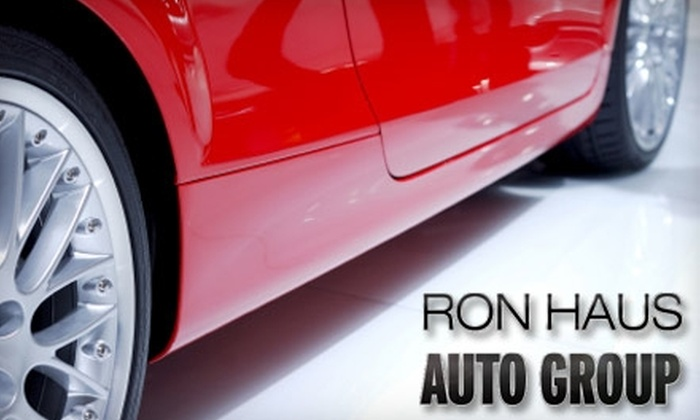 Ron Haus Auto Group - Canfield: $49 for an Oil Change, Tire Rotation, Safety Inspection, and Car Wash at Ron Haus Auto Group in Canfield