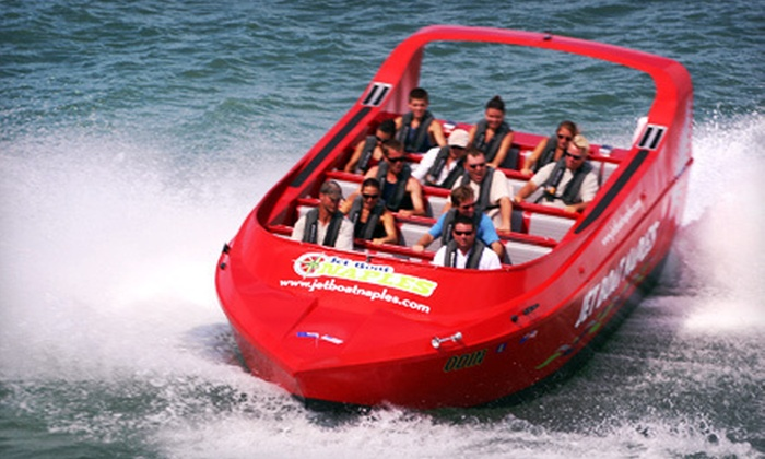 Pure Naples - Downtown Naples: $19 for a 60-Minute Jet Boat Thrill Tour from Pure Naples ($49 Value)