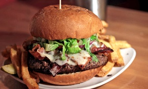 Taurus: $20 for $30 Worth of Burgers and Beer at Taurus
