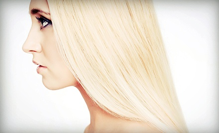 Haircut and Conditioning with Options for Partial or Full Highlights at New Leaf Salon (Up to 65% Off)