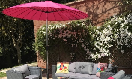 garden sunshade umbrella