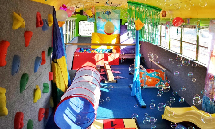 Bouncin' Bus, LLC - Green Bay: Two or Four 30-Minute Fitness Classes for Kids Ages 2–6 at Bouncin' Bus, LLC (42% Off)
