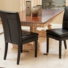 Set of 2 Bonded Leather Dining Chairs