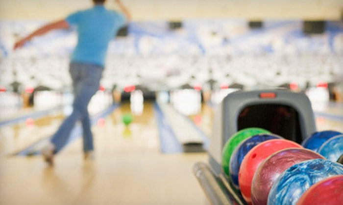 Metro Bowl - Baton Rouge: Two-Hour Bowling Outing with Shoe Rentals, Pizza, and Soda for Four or Six at Metro Bowl (Up to 52% Off)