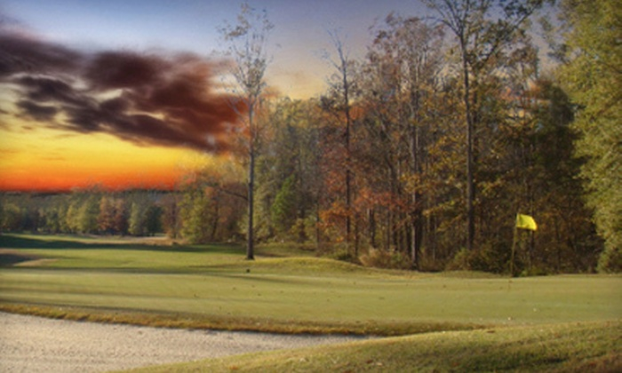 The Refuge - Flowood: 7 Rounds of Golf and 10 Lessons with Option for GCI Membership and Wedge at The Refuge in Flowood (Up to 78% Off)