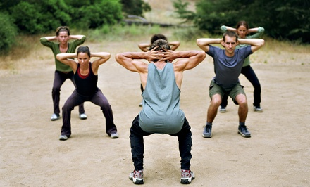 $40 for $80 Toward Fitness Boot Camp at High Level Training
