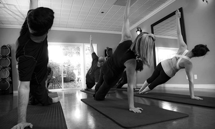 KÔR Pilates - Huntington Beach: 20 Pilates Mat Classes or 4 Pilates Apparatus Classes at KÔR Pilates in Huntington Beach (Up to 88% Off)