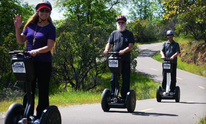 Shasta Glide 'n Ride - Redding: Two-Hour Segway Tour for 2 or Private Tour for a Group of Up to 10 at Shasta Glide 'n Ride in Redding (Up to 52% Off)