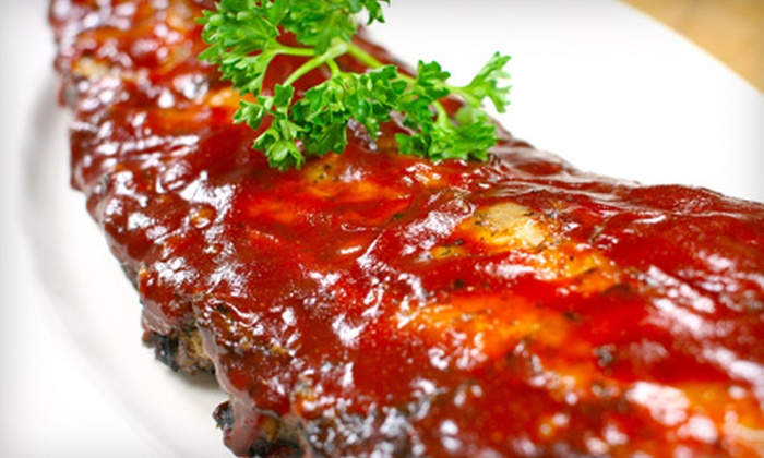 Sir's Restaurant - University City: $7 for $15 Worth of Smoked Barbecue at Sir's Restaurant in University City