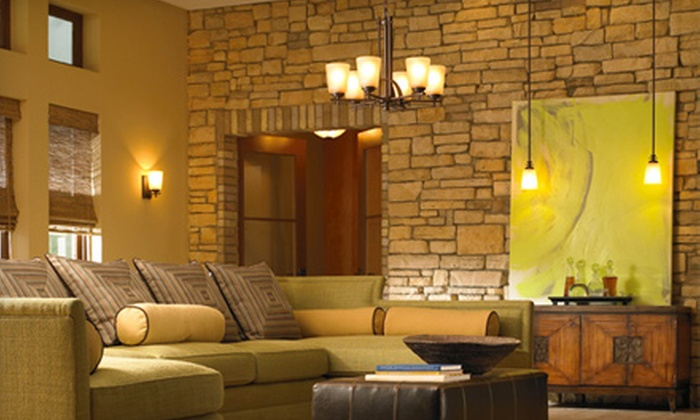 Sun Lighting - Poets Square: $35 for $75 Worth of Lighting Fixtures and Home Décor at Sun Lighting