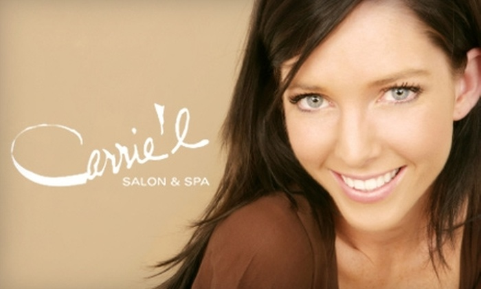 Carrie'l Salon & Spa - Oliver: $57 for a Body Exfoliation & Spray Tan at Carrie'l Salon & Spa ($115.50 Value)