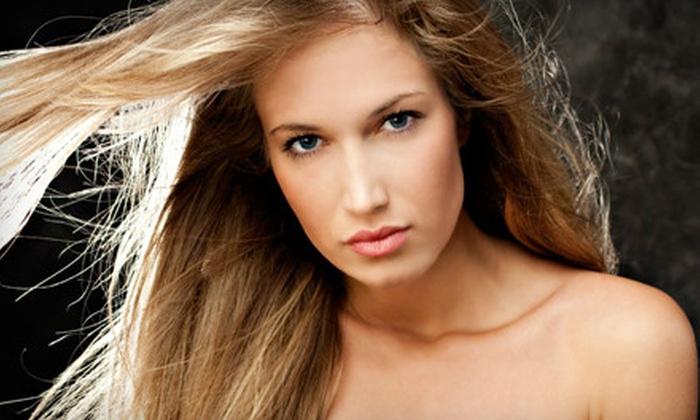 Glamarama Salon - Walnut Valley: Men's Haircut or Women's Haircut with Deep-Conditioning Treatment at Glamarama Salon (Half Off)