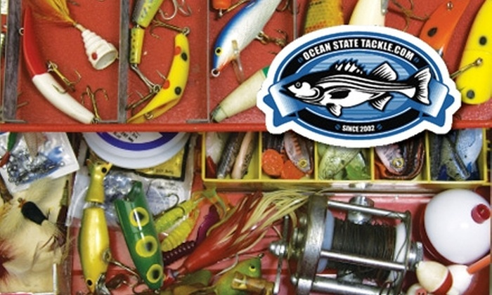 Ocean State Tackle - Charles: $10 for $25 Worth of Bait and Tackle from Ocean State Tackle