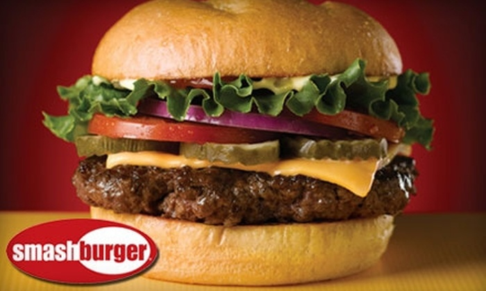 Smashburger - Multiple Locations: $6 for $12 Worth of Burgers, Sides, Salads, and More at Smashburger. Choose From Five Locations.